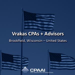Vrakas CPAs + Advisors Brookfield, Wisconsin – United States Vrakas CPAs + Advisors has…